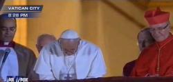 Předznamenání nového papeže Františka