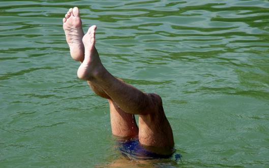 Mít plavky odshora až dolů