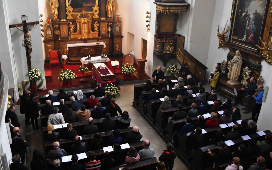 Kristův pohřeb (Miloslav Vlk)