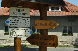 Čihošť je geografický střed České republiky, zároveň byla Číhošť působištěm umučeného kněze Josefa Toufara. / foto IMA